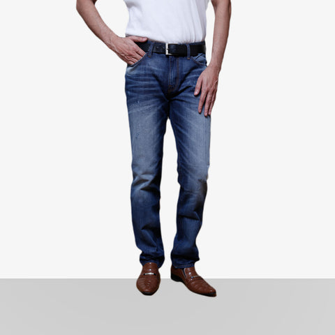 Home Bazar Denim Faded Blue Jeans 3 - HomeBazar.pk - 1