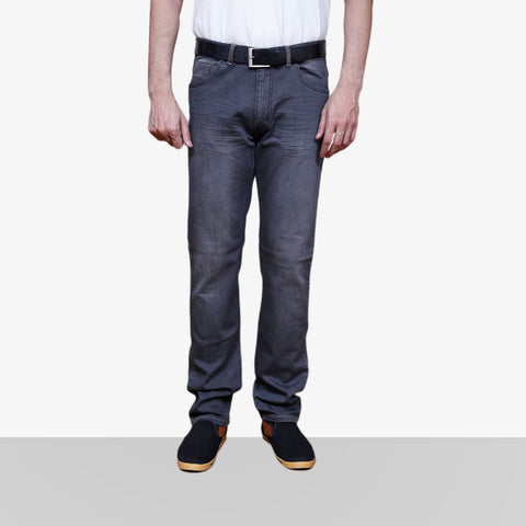 Home Bazar Denim Faded Black Jeans 1 - HomeBazar.pk - 1