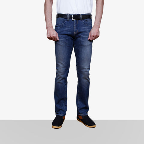 Home Bazar Denim Faded Blue Jeans 1 - HomeBazar.pk - 1