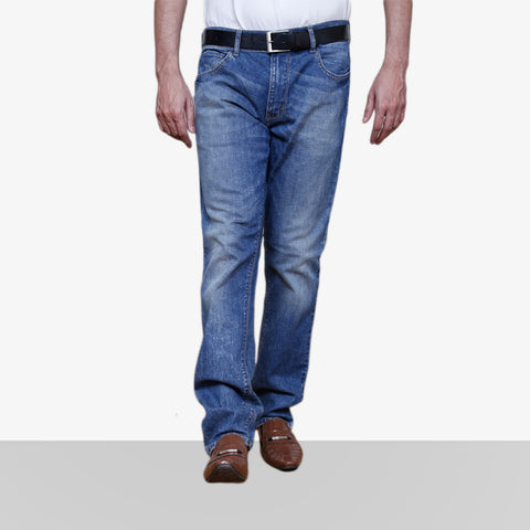 Home Bazar Denim Faded Blue Jeans 2 - HomeBazar.pk - 1