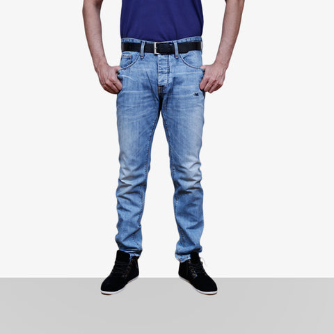Home Bazar Denim Faded Light Blue Jeans 3 - HomeBazar.pk - 1