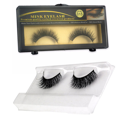 Handmade False Eyelashes (015)
