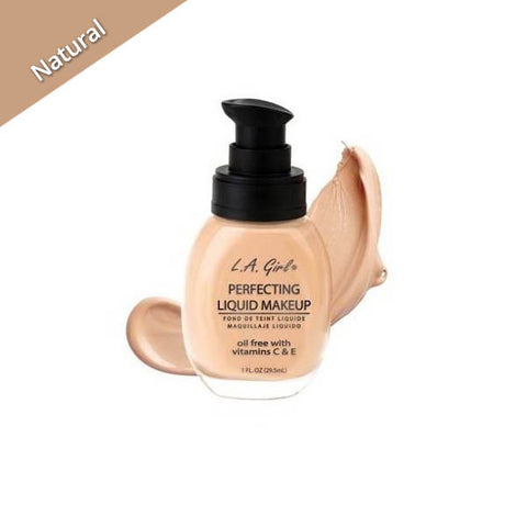 LA Girl Perfecting Liquid Makeup Natural, La girl natural Liquid Makeup
