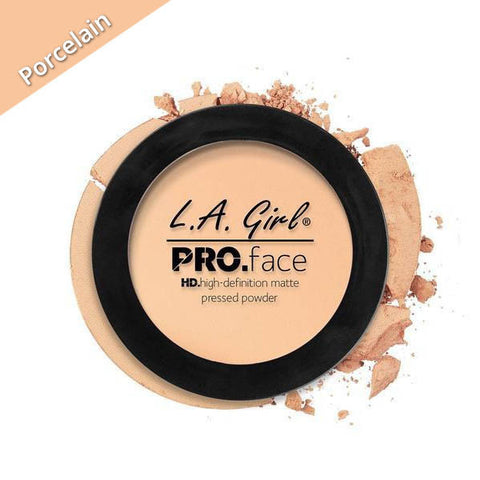 LA Girl Pro Face Pressed Powder Porcelain, Porcelain Face Powder