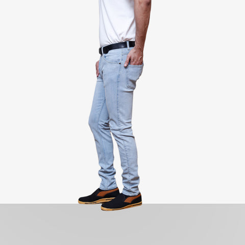 Denim Light Grey Jeans 1