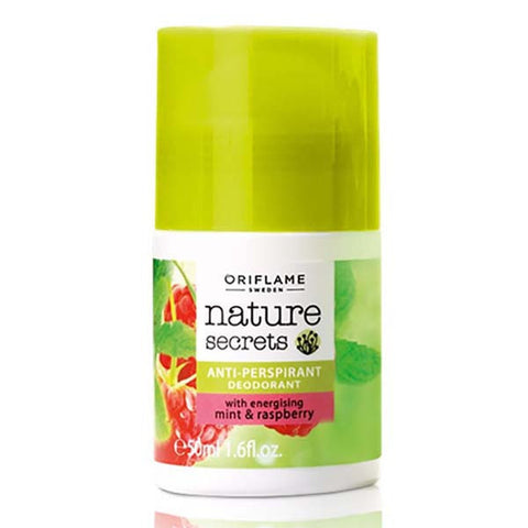 Oriflame Nature Secrets Anti-perspirant Deodorant with Energising Mint & Raspberry
