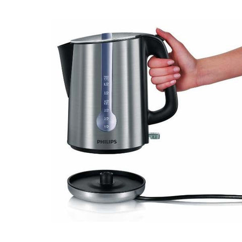 Philips Brushed Metal Energy Efficient Kettle