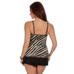 Miraclesuit Opposites Attract Love Knot Underwire Tankini Top 6502147