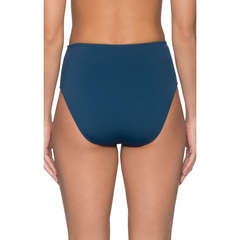 Sunsets Seamless High-Waist Bikini Bottom 30B