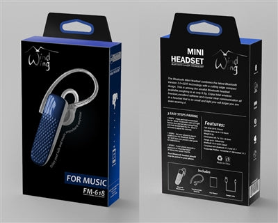 WindWing | Bluetooth Headset - Blue - Bluetooth -Warsaw Wireless