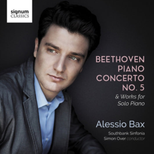 Alessio Bax - Beethoven Piano Concerto No.5 & Works for Solo Piano (W/C 28/05)