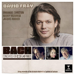 David Fray - Bach: Concertos for 2, 3 and 4 Pianos (W/c 19.11.18)