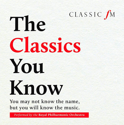 The Classics You Know (W/C 06/08)