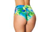 Tie Dye High Waisted Booty Short