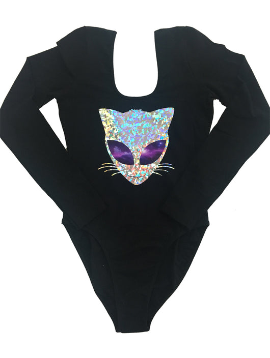 Galactic Kitty Bodysuit