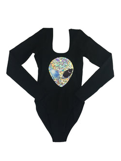 Long Sleeve Sun & Moon Bodysuit