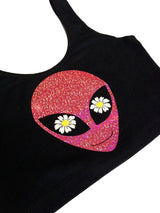 READY TO SHIP Daisy Alien Crop