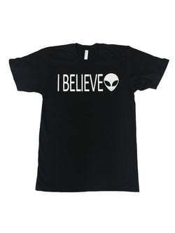READY TO SHIP I Believe in Aliens Tee