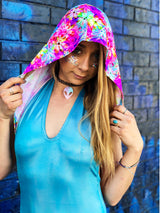 Electric Daisy Hooded Bodysuit
