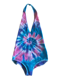 READY TO SHIP Cotton Candy Tie Dye Bodysuit