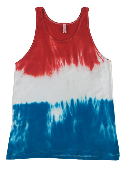 Men's Firecracker Tie Dye Tank