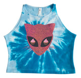 Kawaii Space Kitty Crop
