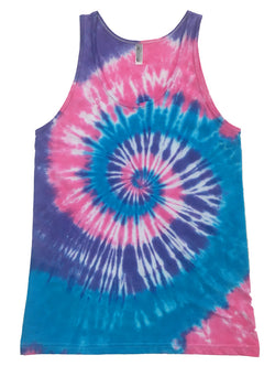 Men's Cotton Candy Tie Dye Tank