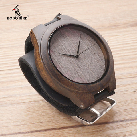 Bamboo Handmade Casual Wrist Watch