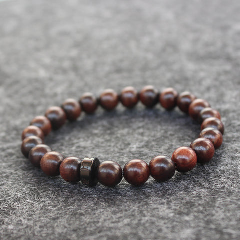 Wholesale Natural Wood Beads Tibetan Buddhist Mala Prayer Bracelets