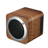 Fashion cube Retro wooden bluetooth speaker wood square radio FM vibro woofer boombox caixa de som portatil altavoz alto falante