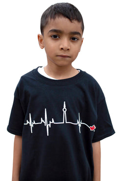 Kids Black HBTO T-Shirt