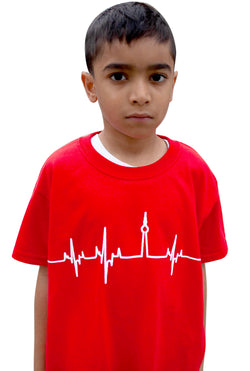 Kids Red HBTO T-Shirt