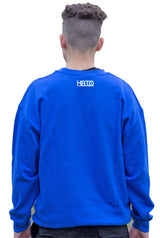 Royal Blue BigBeat Crewneck Sweatshirt