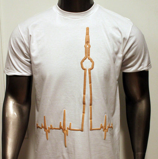OVO Inspired BigBeat T-Shirt Gold Beat