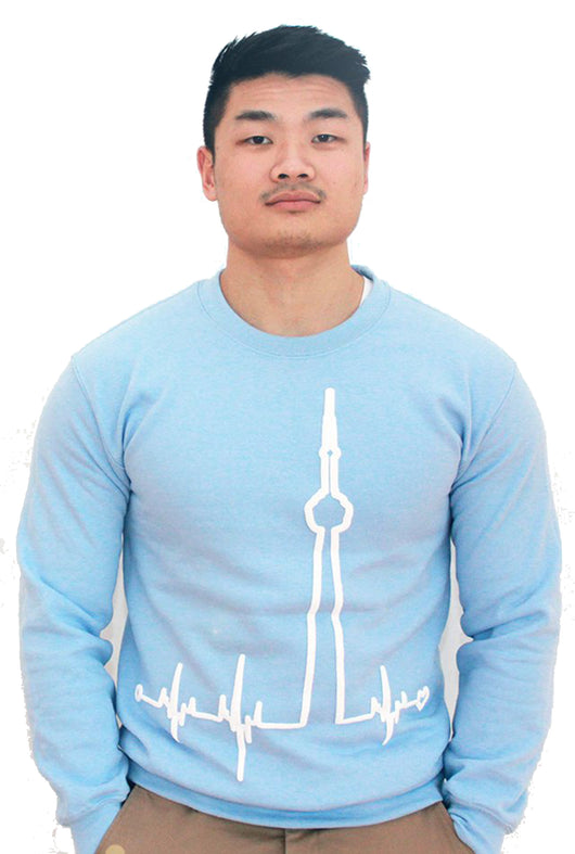 Baby Blue BigBeat Crewneck Sweatshirt
