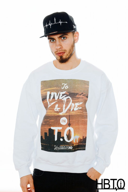 To Live & Die in T.O. Crewneck Sweatshirt