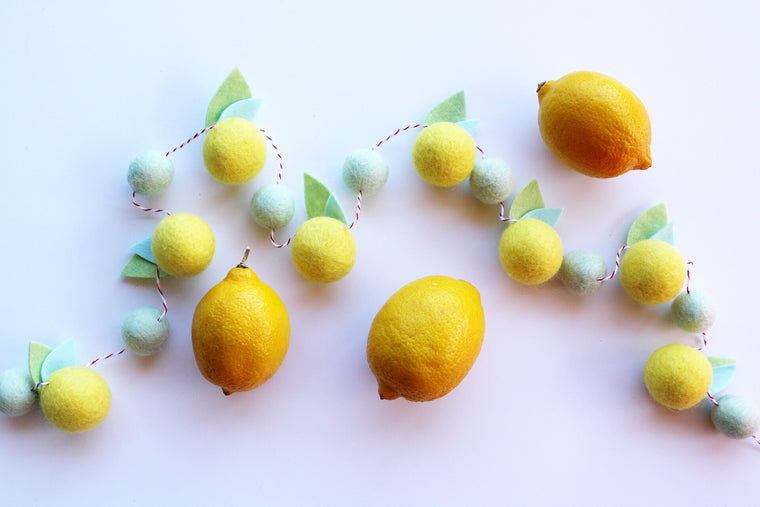 Lemon garland