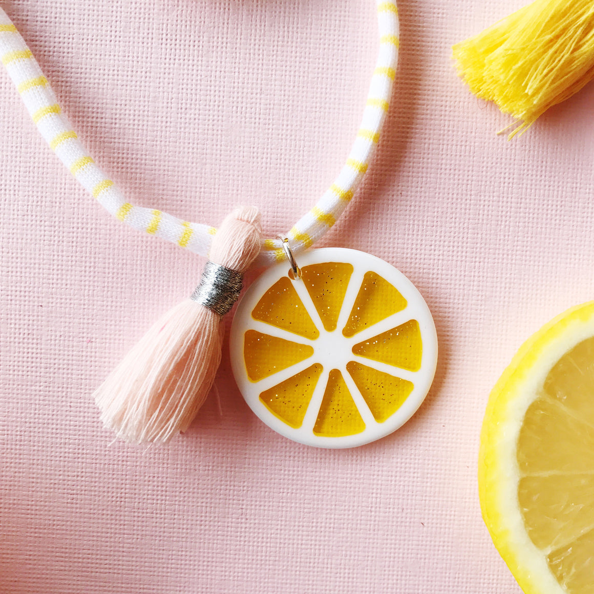 Lemonade necklace