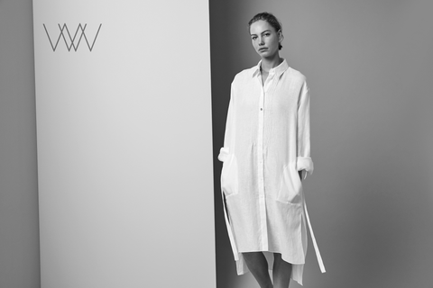 Thea WW017 Simple,elegant and pure Italian cashmere.