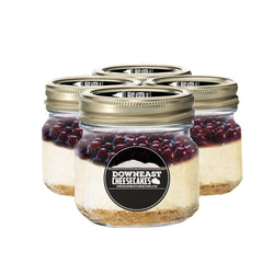 Cherry Cheesecake In A Mason Jar