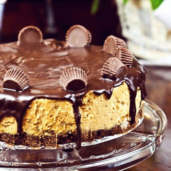 Chocolate Reese's® Peanut Butter Cheesecake