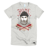 Home Is Downeast Maine Short sleeve women's t-shirt
