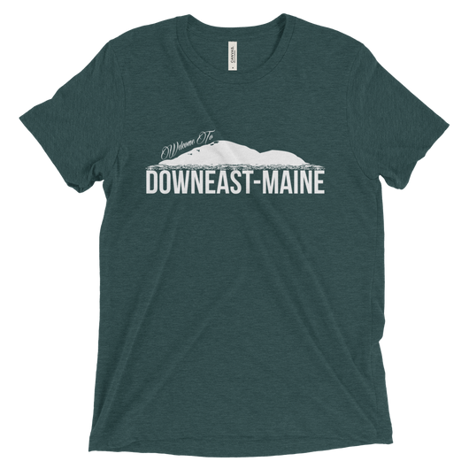 Welcome To Downeast Maine - Short sleeve t-shirt
