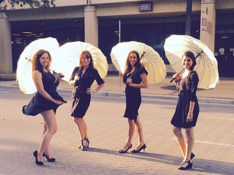 Fun with umbrellas