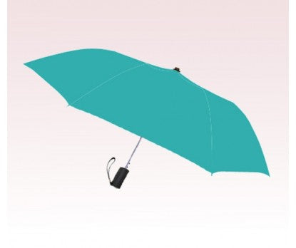 Teal Small 8-Panel Folding Umbrella