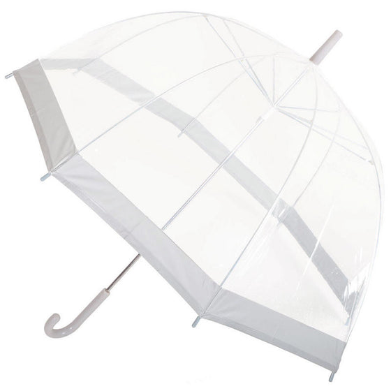 Clear umbrellas for weddings and events