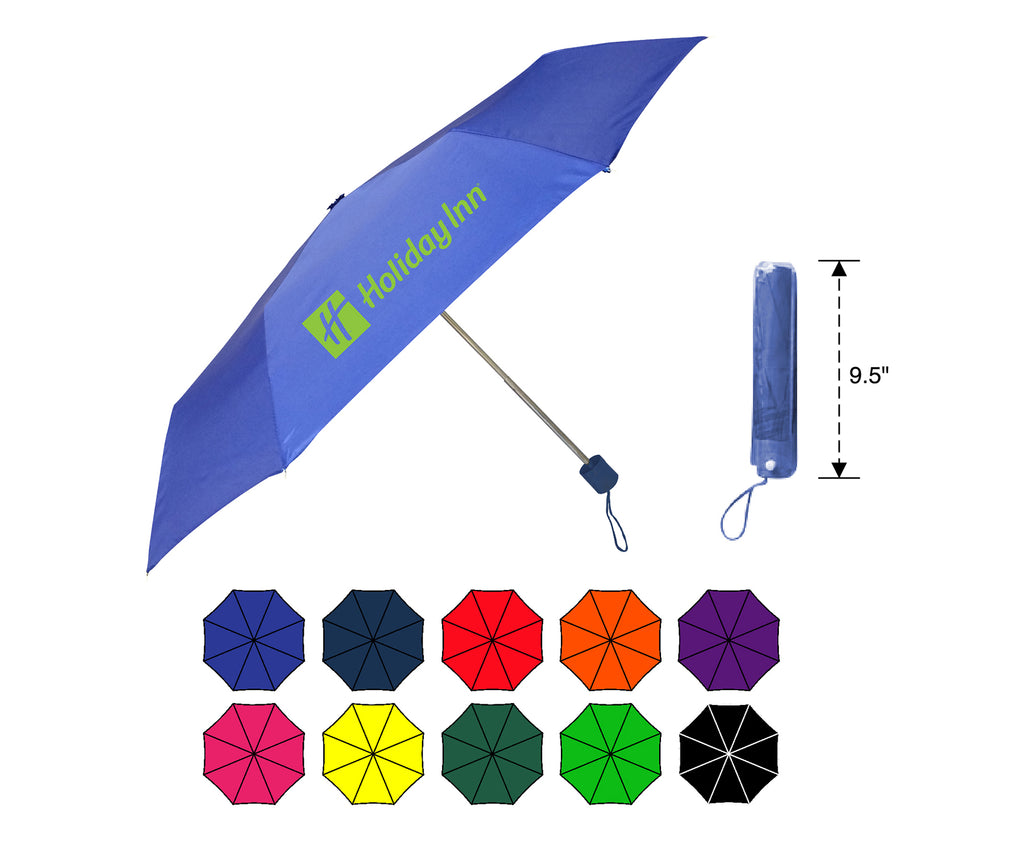 Small 8-Panel Economy Folding Umbrella
