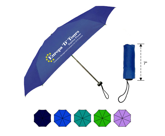 Small 5-Panel Economy Folding Umbrella