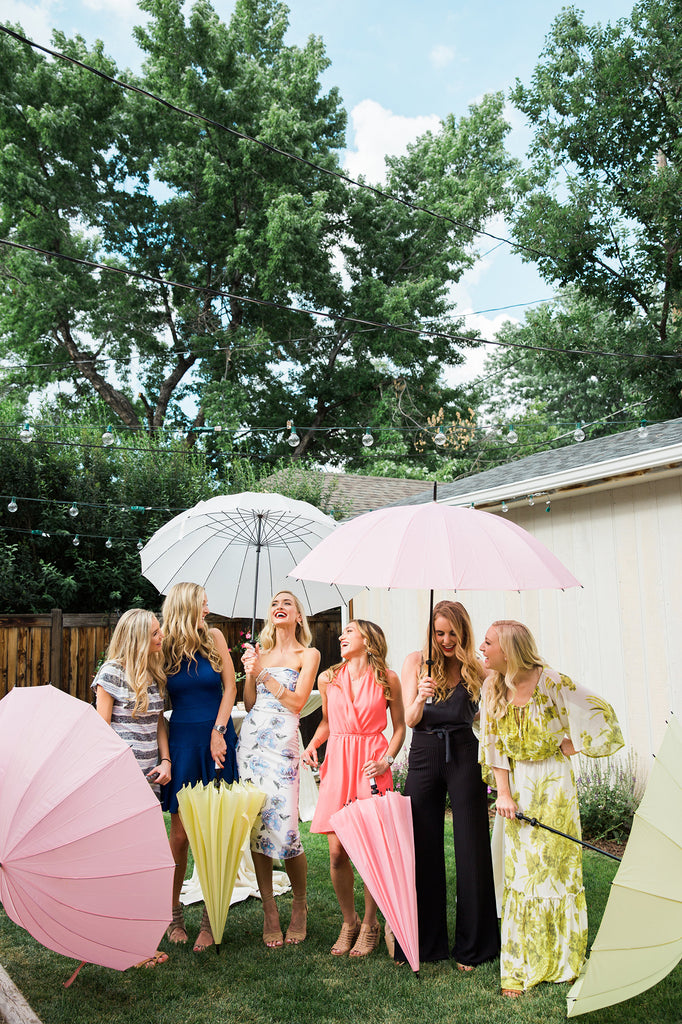 Lemonade Large 16-Panel Umbrella