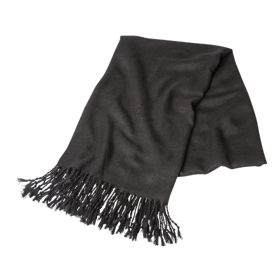 Shawl rental - black pashmina